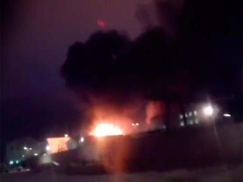 """В колонии """"Белый лебедь"""" в Пермском крае возник серьезный пожар"""