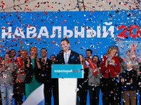 Навального выдвинули в президенты на пляже в Серебряном бору