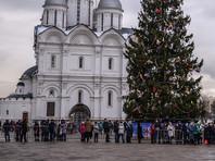 Путин вышел на Соборную площадь к детям, а его спросили про оппозицию (ВИДЕО)