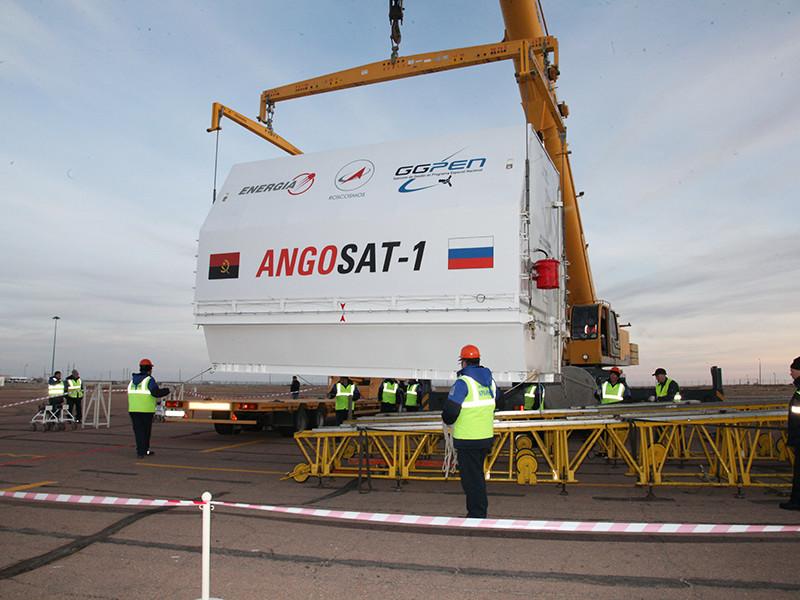 Ангольский спутник Angosat, связь с которым была потеряна после старта, успешно вышел в точку стояния на геостационарной орбите
