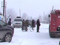 Пожар произошел в поселке Степной в Искитимском районе рано утром в воскресенье