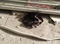 """В магазинах сети """"Перекресток"""" в Петербурге после взрыва убирают камеры хранения (ФОТО после взрыва)"""