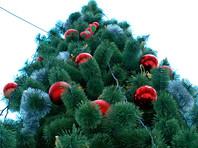 В Железногорске новогоднюю елку для детей-инвалидов устроили на втором этаже
