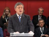 """Партия """"Яблоко"""" официально выдвинула своего основателя Явлинского кандидатом в президенты России"""