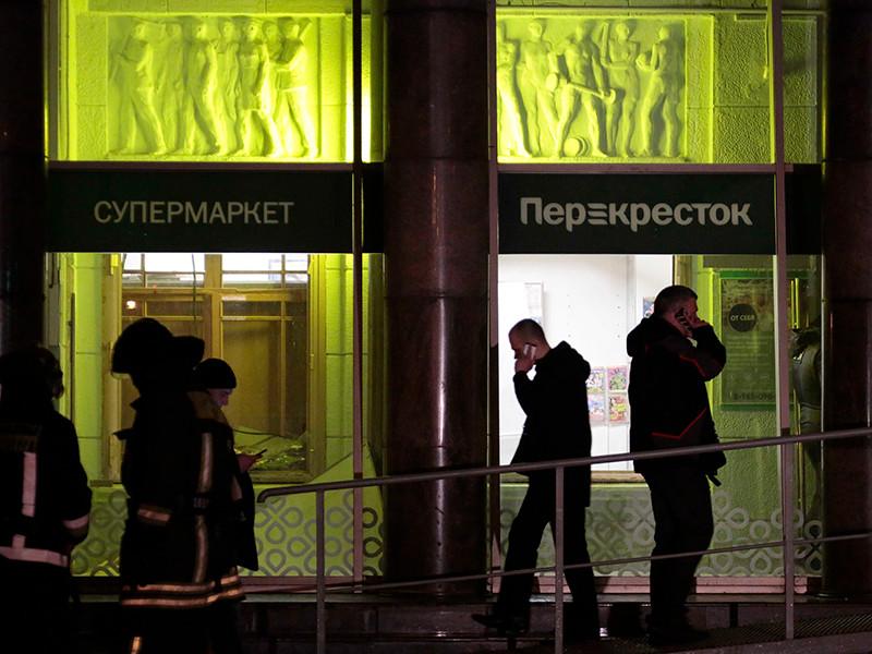 """В информационном центре Национального антитеррористического комитета подтвердили, что именно оперативный штаб НАК координирует ситуацию в связи со взрывом в магазине """"Перекресток"""" в петербургском торговом центре"""