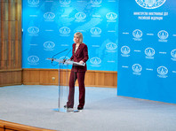 Захарова назвала заявления Госдепа по поводу недопуска Навального к выборам вмешательством в дела РФ