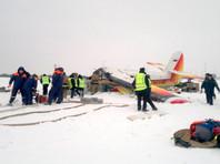 """Трагедия в аэропорта Нарьян-Мара произошла утром 19 декабря. Легкий самолет """"ТВС-2МС"""" (модификация """"Ан-2""""), который направлялся по маршруту Нарьян-Мар - Харута, разбился при взлете"""
