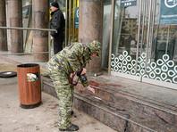 Число пострадавших при взрыве в Петербурге  составило  18 человек - половина в больницах
