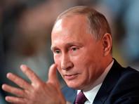 """Путин рассказал в эфире программы """"Время"""", отмечающей 50-летний юбилей, чего ждет от журналистов"""