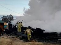 При пожаре на турбазе на Байкале погибли два человека. Среди пострадавших китайцы