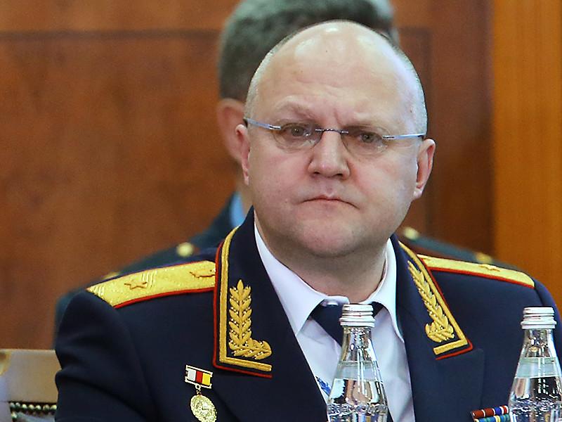 Руководитель Главного следственного управления СКР по Москве генерал-майор юстиции Александр Дрыманов