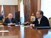 Путин и Медведчук встретились для обсуждения второго этапа обмена пленными на Украине