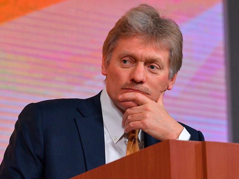 Песков оставил в секрете имя единственного физического лица, пожертвовавшего деньги на кампанию Путина