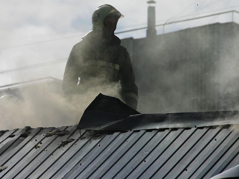 """В Ингушетии произошел пожар в офисе правозащитной организации """"Мемориал"""". Это был поджог, что подтверждается видеозаписью"""