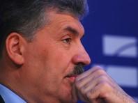 Грудинин в субботу в Центральном доме литераторов в Москве проводит встречу с доверенными лицами и представителями общественности
