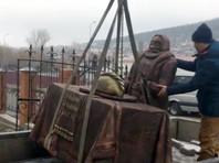 """В Миассе открыли памятник гигантскому пельменю, которому """"и рот рад"""" (ФОТО)"""