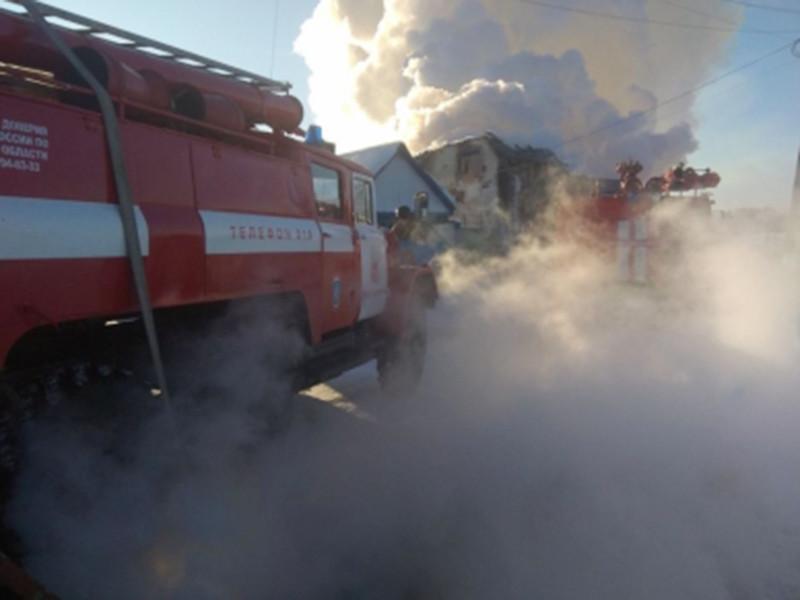В селе Седельниково Омской области 22 января в результате пожара в частном доме погибли пятеро из семи приемных детей