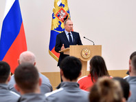 Владимир Путин на встрече с российскими спортсменами – участниками XXIII Олимпийских зимних игр