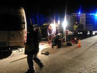 В Мурманской области ДТП с участием двух маршруток: четыре человека погибли