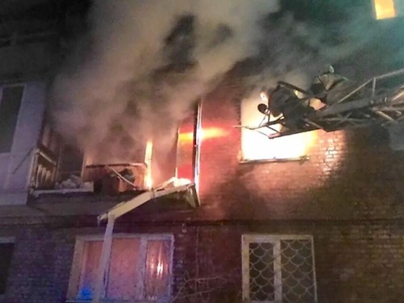 В пятницу вечером в одном из жилых домов на 5-й Кордной улице Омска прогремел взрыв