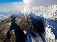 Вулкан Ключевской на Камчатке выбросил пепел на высоту более 5 км