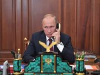 Путин перед встречей с Аббасом обсудил с Трампом палестино-израильское урегулирование