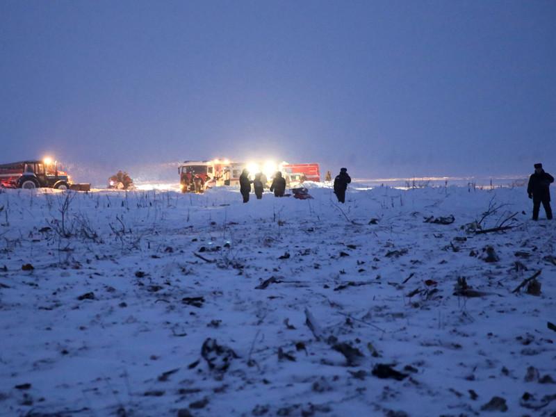 Установлено место жительства всех находившихся на борту разбившегося в Подмосковье Ан-148