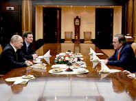 Владимир Путин и Оливер Стоун, 1 декабря 2017 года