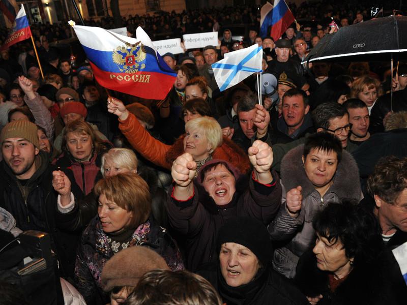 Севастополь, март 2014 года