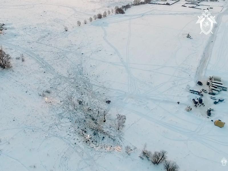 Саратовский Ан-148 взорвался уже после падения, выяснили в СК