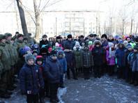 Доску установили на здании школы N9, в которой учился погибший. Церемония открытия прошла во вторник, 13 февраля. Также состоялся траурный митинг