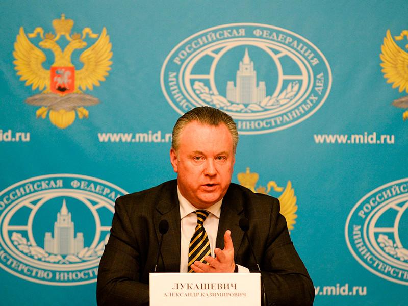 Постпред РФ при ОБСЕ Александр Лукашевич раскритиковал решение президента Украины Петра Порошенко подписать так называемый закон о реинтеграции Донбасса.