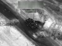 По данным Пентагона, американские военные уничтожили около 100 бойцов проправительственных сил Башара Асада