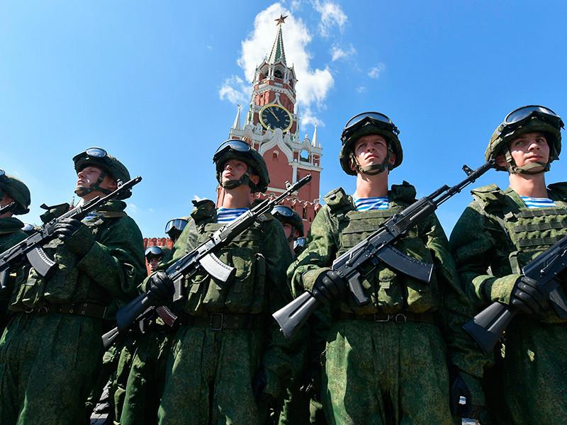 Треть россиян считают армию РФ сильнейшей в мире