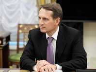 Нарышкин заявил, что ездил в США на разведку