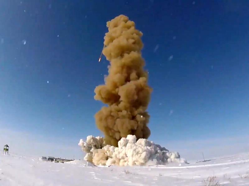 Российские военные провели успешный испытательный запуск модернизированной ракеты системы противоракетной обороны (ПРО)