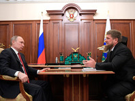 """Кадыров пожелал приболевшему """"супергерою"""" Путину пожизненно оставаться президентом"""