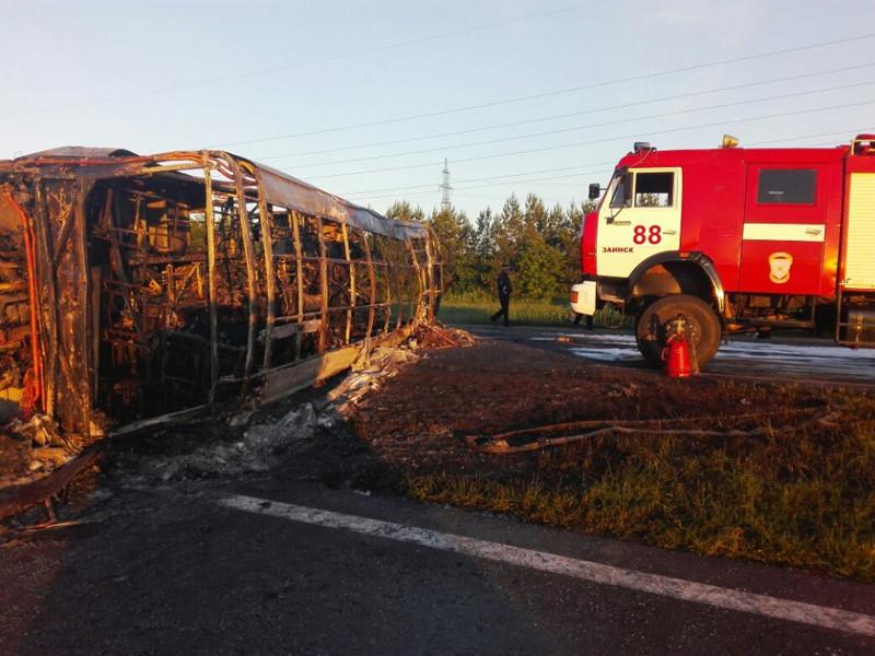 В ночь на 2 июля 2017 года в девяти километрах от города Заинск в Татарстане произошла авария