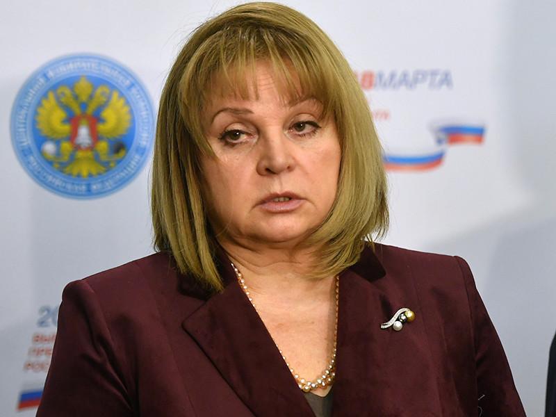 """Памфилова назвала надуманными заявления об искусственных трудностях при сборе подписей и сказала, что """"серьезные"""" кандидаты готовы ко всему"""
