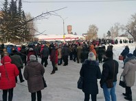 Народный сход отправил в отставку главу   новосибирского поселка  после  гибели двух детей  в вырытой коммунальщиками яме