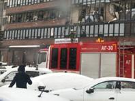 Три человека серьезно пострадали в результате взрыва в жилом доме на севере Санкт-Петербурга
