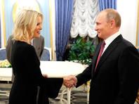 """Келли по итогам беседы призналась, что """"не стоит пробовать перемудрить Владимира Путина"""", но можно попробовать """"заставить его немного защищаться"""""""