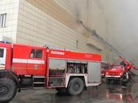 Пожар ликвидируют более десяти единиц техники