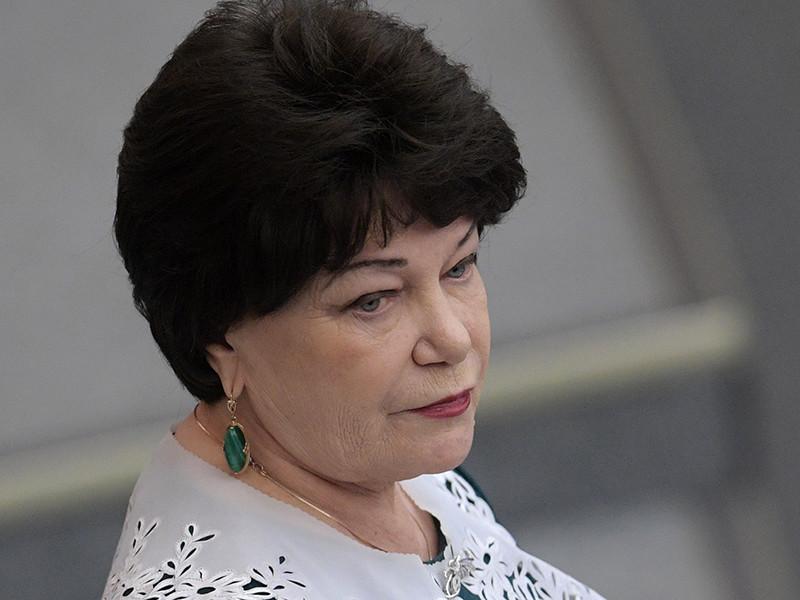 Глава комитета Госдумы по вопросам семьи, женщин и детей Тамара Плетнева