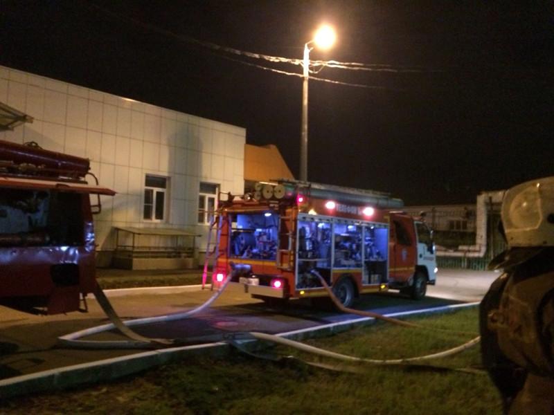В Краснодаре из детской больницы из-за задымления эвакуировали более 130 человек