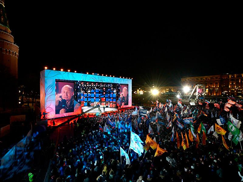 В Кремле признались, что результат Путина на выборах стал для него сюрпризом