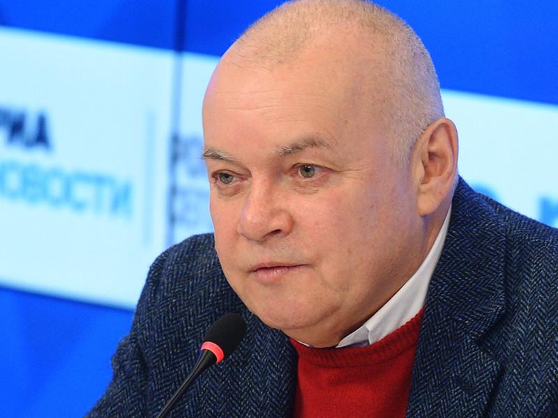 Журналист Дмитрий Киселев за неделю до выборов выложил в интернет двухчасовой фильм про Владимира Путина