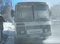 Во Владимире загорелся автобус МЧС, доставлявший журналистов на проверку пожарной безопасности торговых центров города