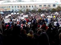 Каждый четвертый житель Волоколамска вышел на митинг против мусорного полигона