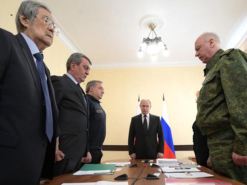 Путин отказался от личной встречи с Тулеевым фото